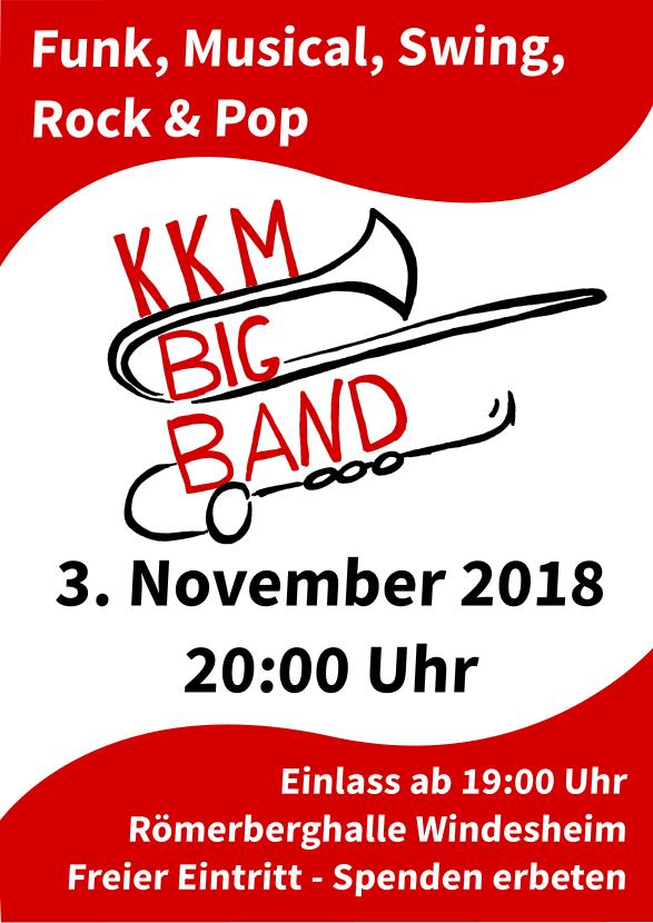 KKM Big Band Jahreskonzert 03.11.2018