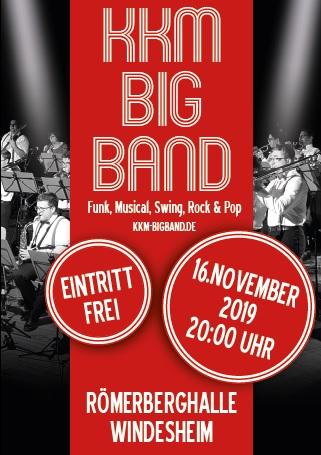 KKM Bigband Konzert 2019 - 16.11.2019  - Römerberghalle Windesheim